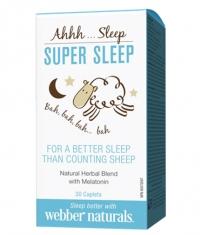 WEBBER NATURALS Super Sleep / 30Caplets.