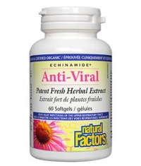 NATURAL FACTORS Anti-Viral 60 Soft.