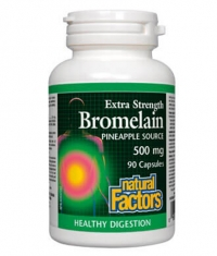 NATURAL FACTORS Bromelain 500mg. / 90 Caps.