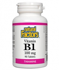 NATURAL FACTORS Vitamin B1 100mg. / 90 Tabs.