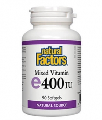 NATURAL FACTORS Vitamin E 268mg. 400iu / 90 Soft.