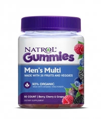 NATROL Men`s Multi Gummies / 90 Gummies