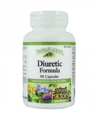 NATURAL FACTORS Diuretic Formula 300mg. / 90 Caps.
