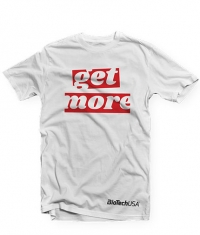 BIOTECH USA GET MORE WHITE T-SHIRT