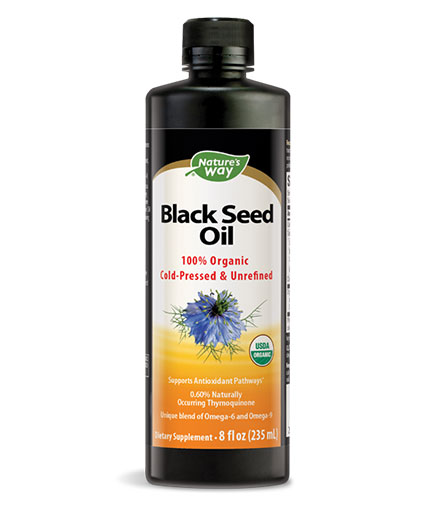NATURES WAY Black Seed Oil / 235ml.