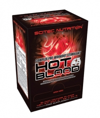 SCITEC Hot Blood 3.0 Box / 25x20gr. Packs