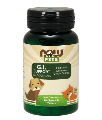 NOW PETS G.I. Support / 90 Chew