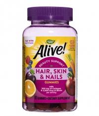 NATURES WAY Alive!® Hair, Skin & Nails Gummies