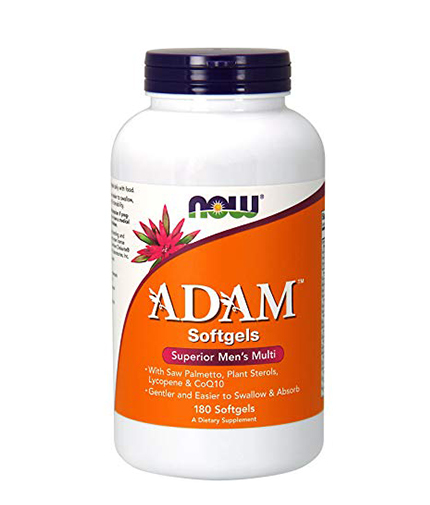 NOW ADAM™ Superior Mens Multiple / Vitamin 180 Softgels.