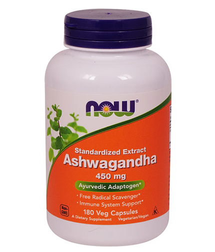 NOW Ashwagandha Extract 450mg / 180Vcaps.