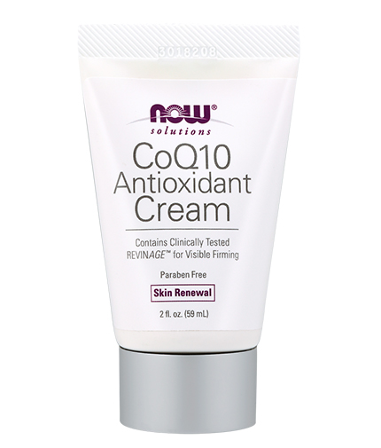 NOW CoQ10 Antioxidant Cream 59ml.