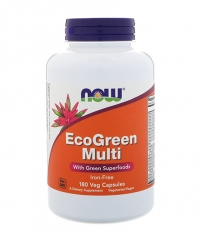 NOW EcoGreen Multi / 180Vcaps.
