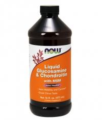 NOW Glucosamine & Chondroitin with MSM Liquid 473ml.