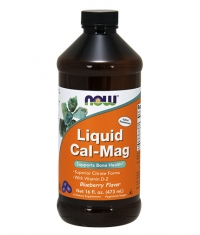 NOW Cal-Mag Liquid 473ml.