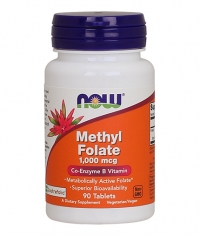 NOW Methyl Folate 1,000mcg / 90Tabs.