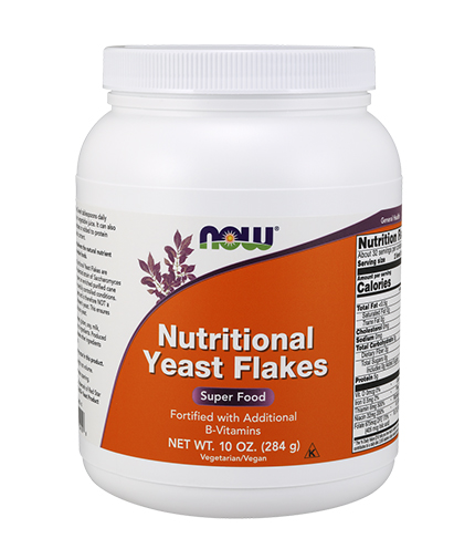 NOW Nutritional Yeast Flakes 284g.