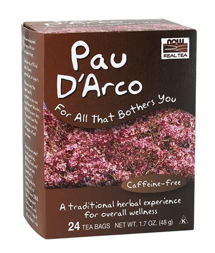 NOW Pau D'Arco Tea / 24 Tea Bags