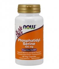NOW Phosphatidyl Serine 100mg / 60Vcaps.