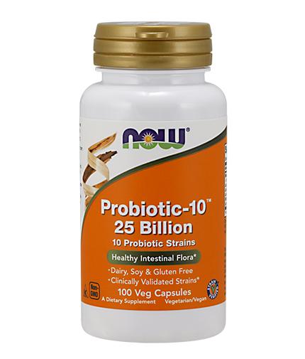 NOW Probiotic 10 - 25 Billion / 100Vcaps.
