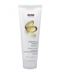NOW Vitamin E Cream 28,000 IU / 118ml.