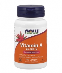 NOW Vitamin A 25,000 IU / 100Softgels