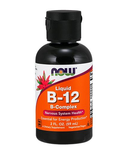 NOW Vitamin B-12 Complex Liquid 60ml.