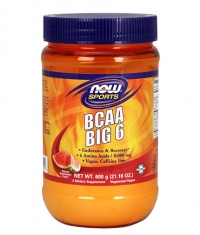 NOW BCAA Big 6 Powder
