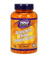 NOW Branched Chain Amino Acid /BCAA/ 240 Caps.