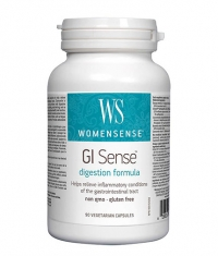 NATURAL FACTORS WomenSense® GI Sense 616mg. / 90 Vcaps.