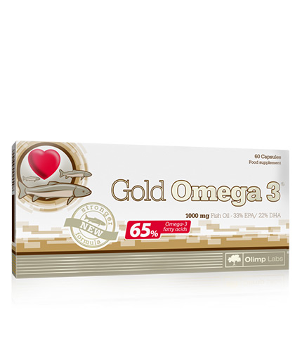 OLIMP Gold Omega 3 65% / 60 Caps.