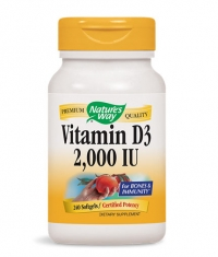 NATURES WAY Vitamin D3 2000IU / 240 Soft.