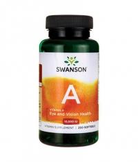SWANSON Vitamin A 10000 IU / 250 Soft.