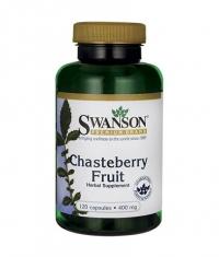 SWANSON Chasteberry Fruit 400mg. / 120 Caps