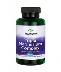 SWANSON Triple Magnesium Complex 400mg. / 300 Caps