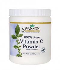 SWANSON Vitamin C Powder - 100% Pure 1000mg.