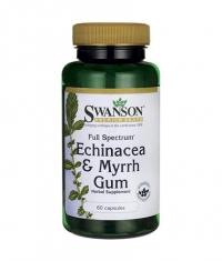 SWANSON Full Spectrum Echinacea & Myrrh / 60 Caps