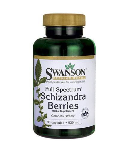 SWANSON Full Spectrum Schizandra Berries 525mg. / 90 Caps