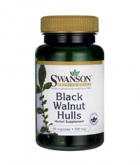 SWANSON Black Walnut Hulls 500mg. / 60 Caps