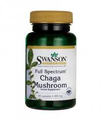 SWANSON Full Spectrum Chaga Mushroom 400mg. / 60 Caps