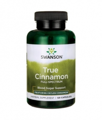 SWANSON True Cinnamon - Full Spectrum 300mg. / 120 Caps