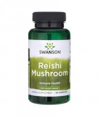 SWANSON Reishi Mushroom 600mg. / 60 Caps