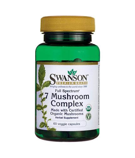 SWANSON Full Spectrum 7 Mushroom Complex / 60 Vcaps