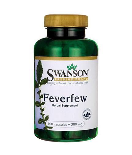 SWANSON Feverfew 380mg. / 100 Caps