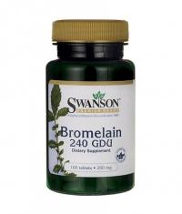 SWANSON Bromelain 200mg. / 100 Tabs