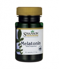 SWANSON Melatonin 3mg. / 60 Caps