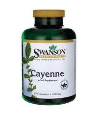 SWANSON Cayenne 450mg. / 300 Caps