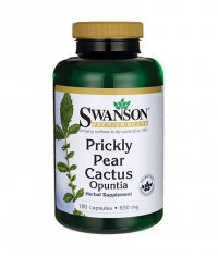 SWANSON Prickly Pear Cactus Opuntia 650mg. / 180 Caps