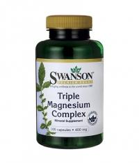 SWANSON Triple Magnesium Complex 400mg. / 100 Caps
