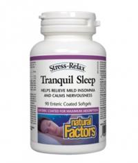 NATURAL FACTORS Tranquil Sleep / 90Softgels