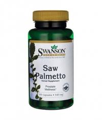 SWANSON Saw Palmetto 540mg. / 100 Caps